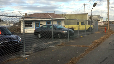 Commercial fencing, chain link fence, security fencing, business fence, MA, RI