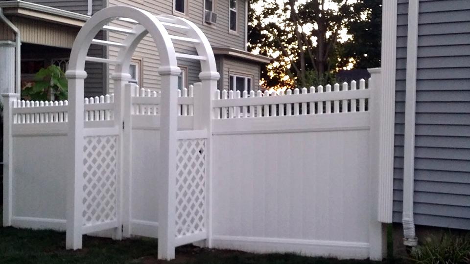 Vinyl privacy fences Front Yard Vinyl Fencing Vinyl Privacy Fences Pvc Fences Residential Fencing Ma Sousa Iron Works Vinyl Fencing Vinyl Privacy Fences Ma Ri Affordable Vinyl