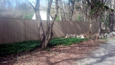 Wooden privacy fencing, wood fences - Lakeville, Freetown, Rochester, Fairhaven, MA