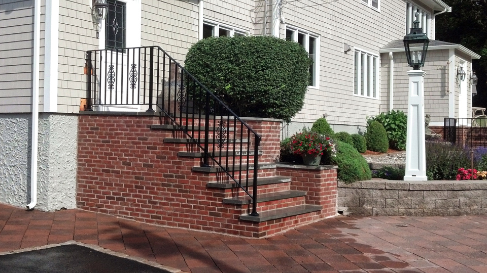 Wrought Iron Railings, MA, RI, Custom Ornamental Exterior Ironwork, Custom  Iron Balconies ...