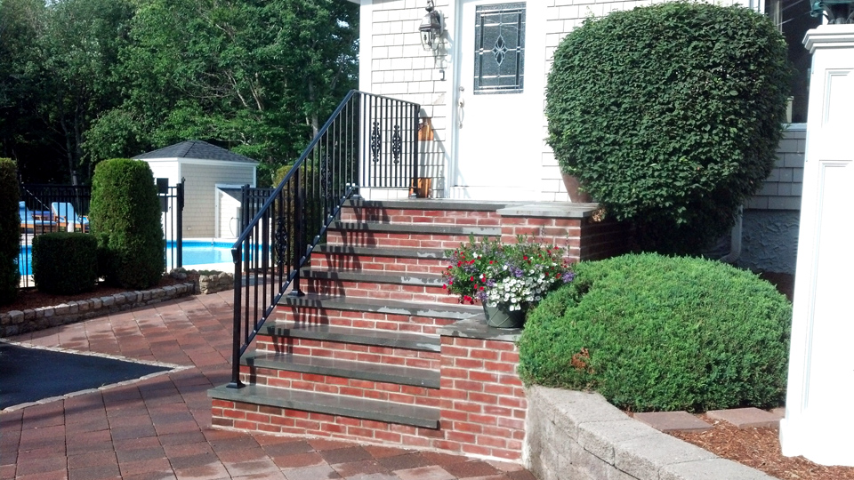 Ordinaire ... Custom Wrought Iron Railings, MA, RI, Ornamental Exterior Ironwork,  Custom Iron Balconies ...