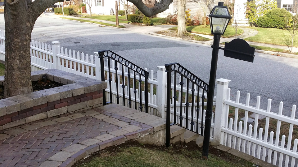 Ornamental Wrought Iron Railings Ma Ri Custom Exterior Ironwork Balconies