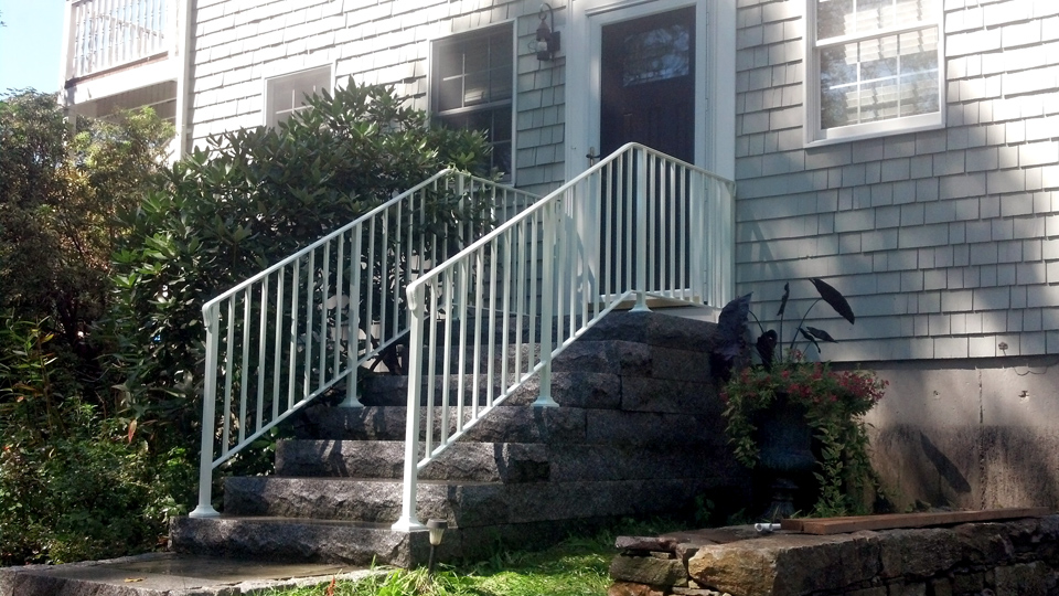 ... Ornamental Wrought Iron Railings, MA, RI, Custom Exterior Ironwork,  Custom Iron Balconies ...